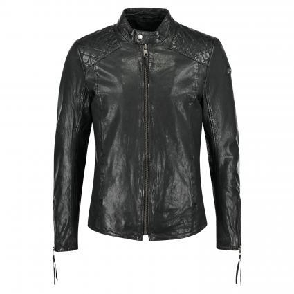 Lederjacke 'Nero' schwarz (900 black) | M