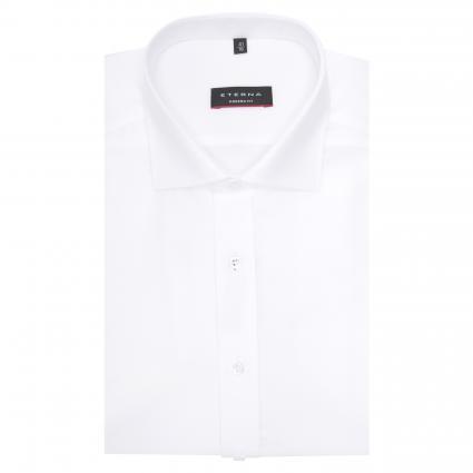 Modern-Fit Hemd mit Haifischkragen weiss (00 weiss) | 38
