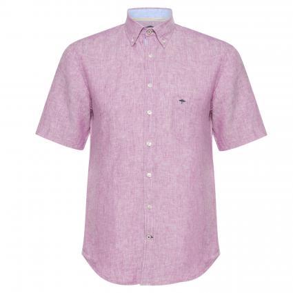 Kurzärmeliges Button-Down Hemd beere (6176 Mallow) | L