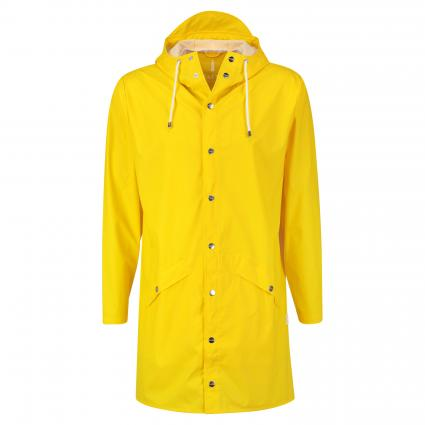 Regenmantel mit Kapuze gelb (04 yellow) | S