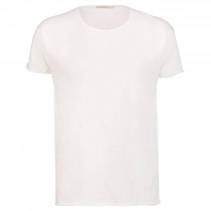 T-Shirt 'Roger' mit leichter Struktur ecru (offwhite)   XL