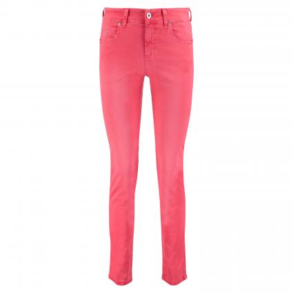 Slim-Fit Jeans 'Cici' rot (651 glossy red) | 42 | 28