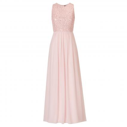 Ärmelloses Abendkleid mit Paillettendetails rose (4084 Crystal Pink) | 34