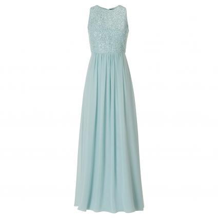 Ärmelloses Abendkleid mit Paillettendetails grün (8501 Smoky Green) | 36