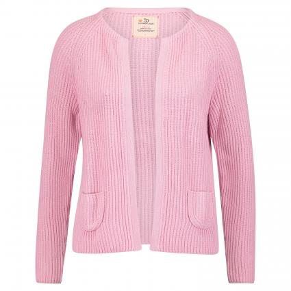 Offene Strickjacke rose (rose) | S