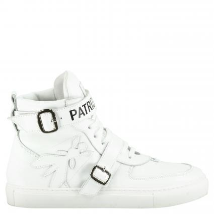 Sneaker aus Leder weiss (W101 WHITE) | 38