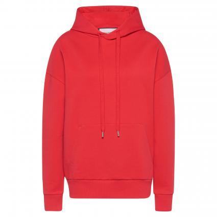 Sweatshirt mit Kapuze rot (red) | XS