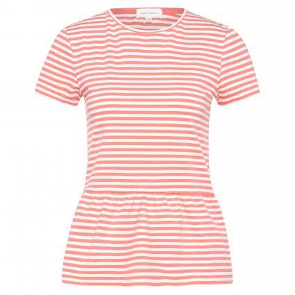 T-Shirt 'Marlis' mit Schößchen pink (1079 pink rose) | S