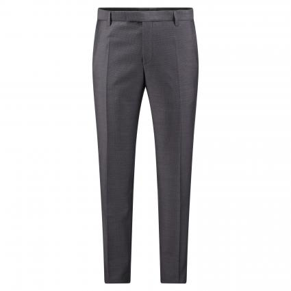 Slim-Fit Baukastenhose 'Mercer' mit Bügelfalte und Struktur grau (031 Medium Grey)   52