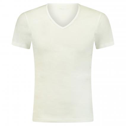 V-Neck T-Shirt weiss (101 weiss) | 6