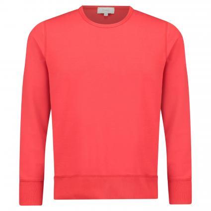 Sweatshirt mit Bündchen rot (128 salsa) | S