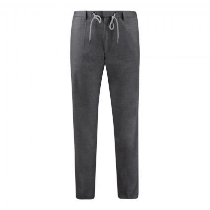 Slim-Fit Hose 'Genius' mit Bügelfalten grau (030 Medium Grey) | 52