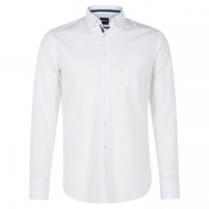 Slim-Fit Hemd 'Magneton' weiss (100 White) | XL
