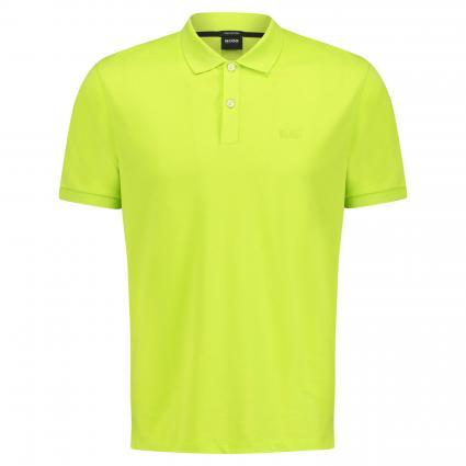 Unifarbenes Poloshirt 'Pallas' gelb (735 Bright Yellow) | L