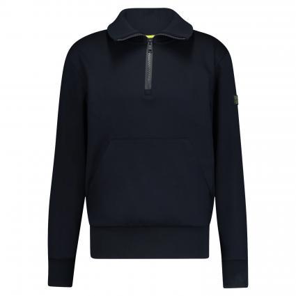 Sweatshirt 'Sidney' mit Stehkragen marine (402 Dark Blue) | M
