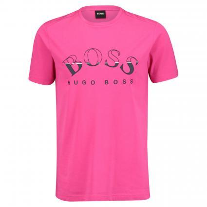 T-Shirt mit 3D Logo-Print pink (670 Bright Pink) | S