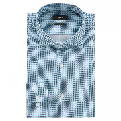 Slim-Fit Hemd 'Gordon' mit Karomuster blau (459 Light/Pastel Blu) | 44