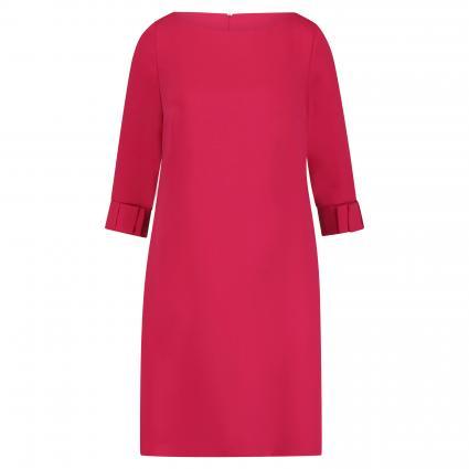 Kleid mit Schleifendetails und 3/4 Ärmel rot (4286 Persian Pink) | 46
