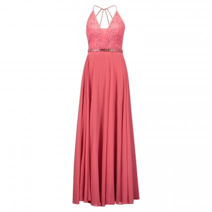 Abendkleid mit Paillettendetails rose (4192 Hot Rosè) | 34