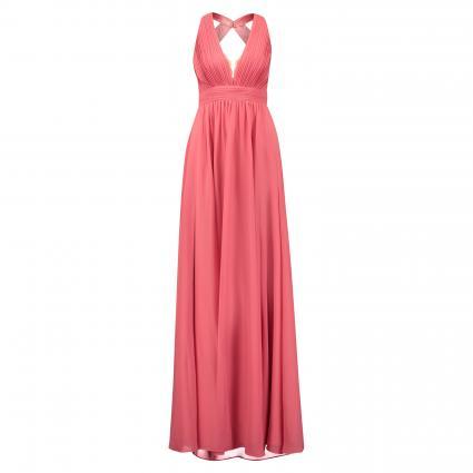 Abendkleid mit Drapierung rose (4192 Hot Rosè) | 32
