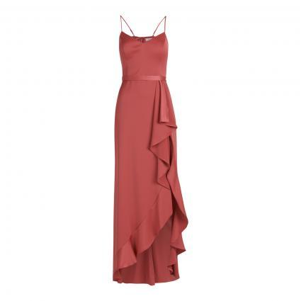 Abendkleid mit asymmetrischer Saumpartie rot (4483 Sweet Raspberry) | 36