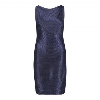 Kleid mit All-Over Glitzer  marine (8881 Dark Blue/Blue) | 36