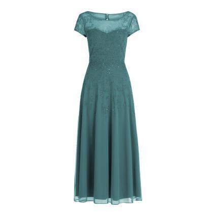 Kleid mit Pailletten-Details grün (5833 Mint/Grey)   36