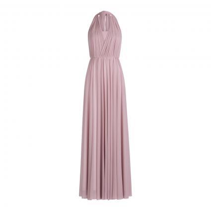 Abendkleid mit geknotetem Rückenausschnitt rose (6248 Mauve Shadows) | 42