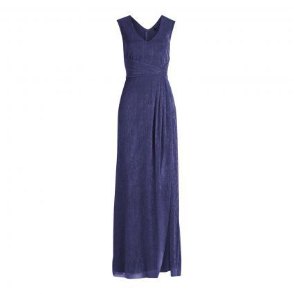 Abendkleid mit A-Linie marine (8881 Dark Blue/Blue) | 36