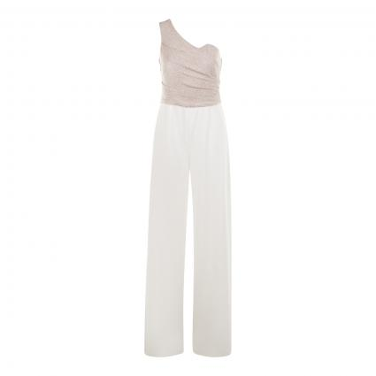 Overall Lang ohne Arm weiss (1828 White/Gold)   38