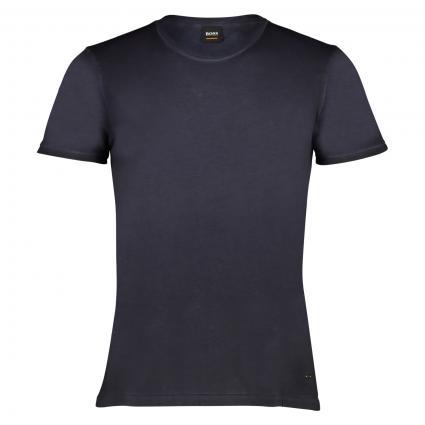 T-Shirt 'Troy' mit Rundhalsausschnitt marine (404 Dark Blue) | XXL