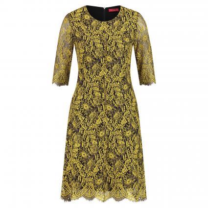 Kleid 'Kirelia' aus Spitze gelb (734 Bright Yellow) | 40