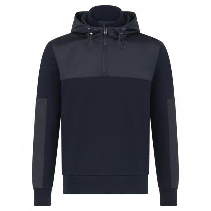 Sweatshirt 'Sidney' mit Kapuze marine (402 Dark Blue) | M
