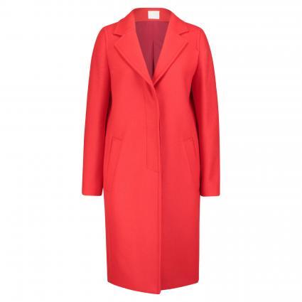 Mantel mit Reverskragen rot (622 Bright Red)   38
