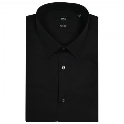 Regular-Fit Business Hemd  schwarz (001 Black) | 41