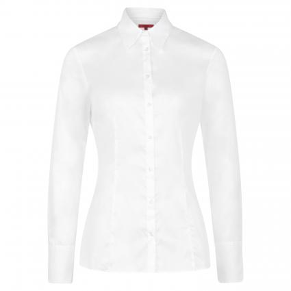 Klassische Bluse 'The Fitted Shirt' weiss (100 White) | 34