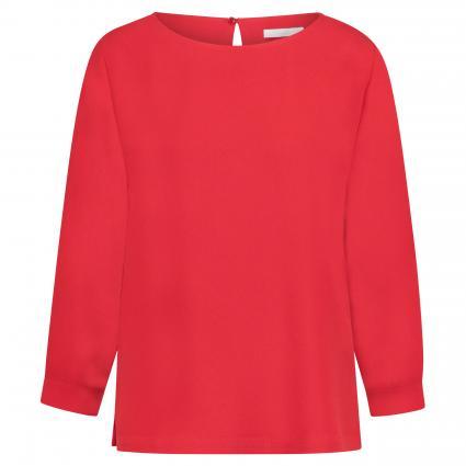 Bluse 'Ipiti' mit Schlüsselloch-Ausschnitt rot (622 Bright Red) | 38