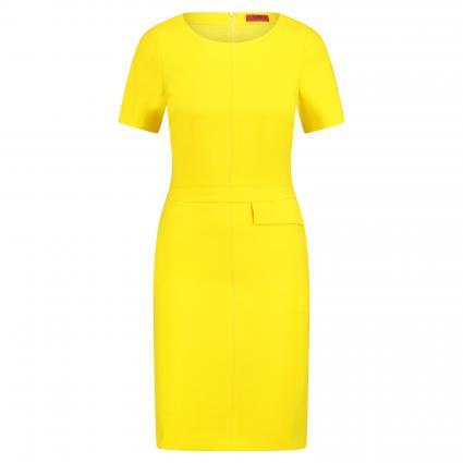 Kleid 'Katara' mit Einschubtasche gelb (734 Bright Yellow) | 34