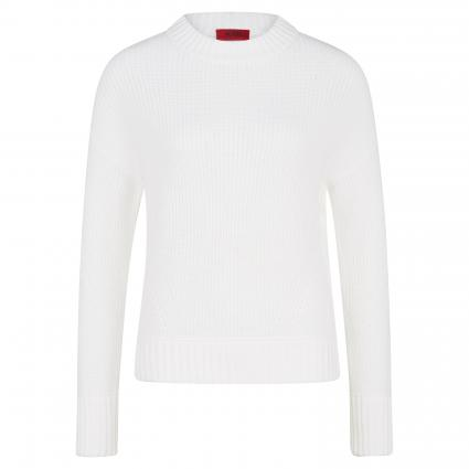Pullover 'Sidanna' aus Baumwolle ecru (102 Natural) | XL
