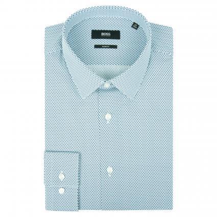 Slim-Fit Hemd 'Isko' aus reiner Baumwolle marine (402 Dark Blue) | 40