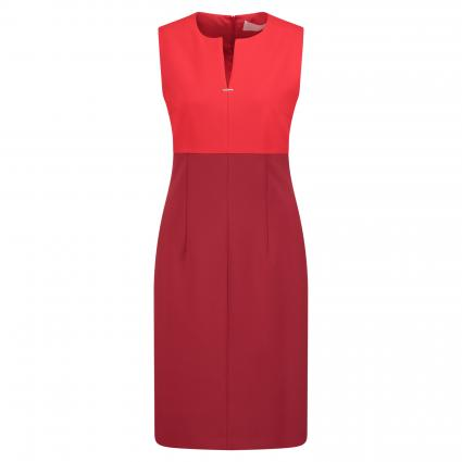Midi-Kleid 'Daedalus1' mit Color-Blocking bordeaux (603 Dark Red) | 44
