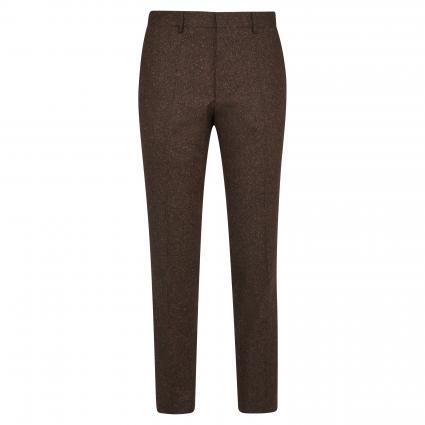 Slim-Fit Hose 'Giro' in Tweed-Optik cognac (220 Rust/Copper) | 52