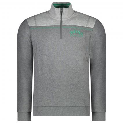 Troyer mit Colour-Blocking  grau (031 Medium Grey) | M