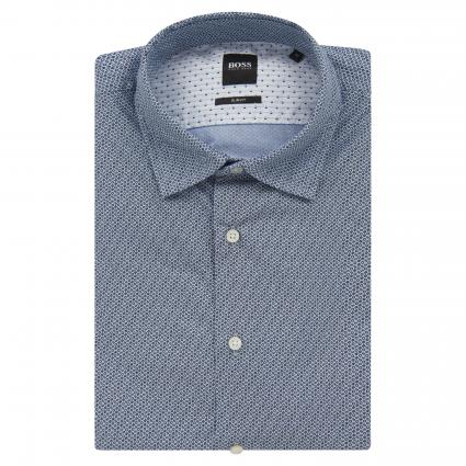 Slim-Fit Hemd 'Mypop' blau (460 Open Blue) | XXL