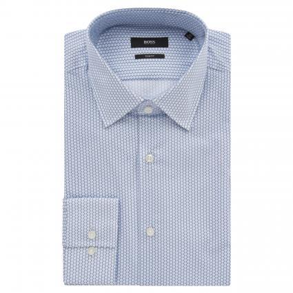 Slim-Fit Hemd 'Jango' aus Baumwolle blau (454 Light/Pastel Blu) | 41