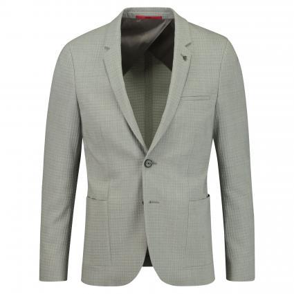 Slim-Fit Sakko 'Anfred' mit Strukturmuster grau (081 Open Grey)   48
