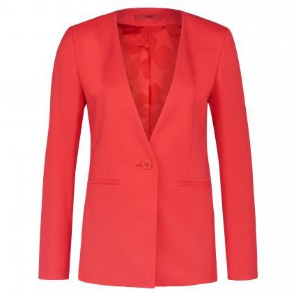 Slim-Fit Blazer 'Adami' rot (624 Bright Red) | 40