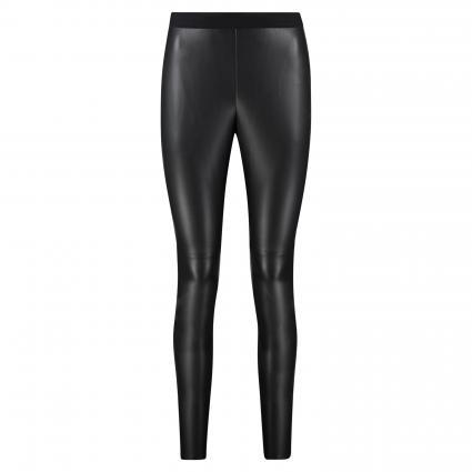 Leggins 'Honati' in Leder-Optik schwarz (001 Black) | 40