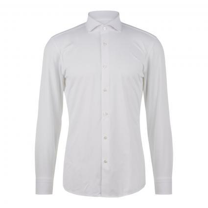 Slim-Fit Hemd 'Jason' weiss (100 White) | 42