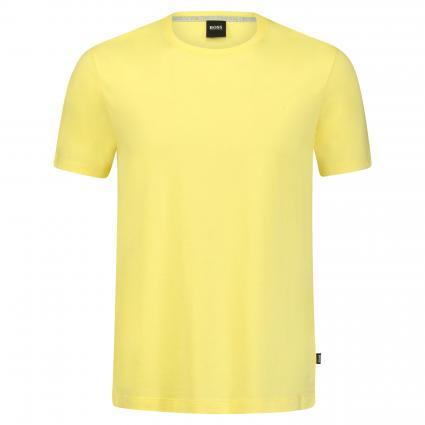 Basic T-Shirt 'Tiburt' gelb (738 Bright Yellow) | S